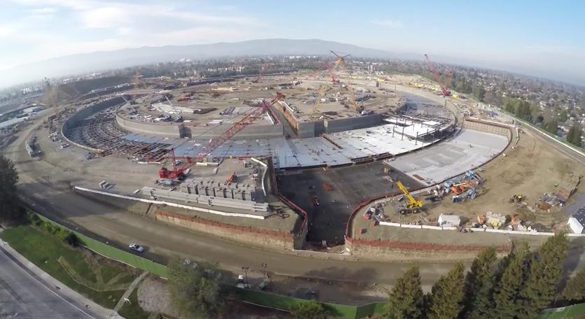 Apple's new Spaceship Campus Video | Apple New Campus