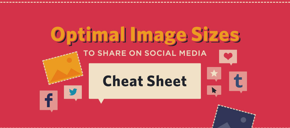 Social Media Images Sizes | A Guide to the optimal images size for every Social Media purpose [Infographic]