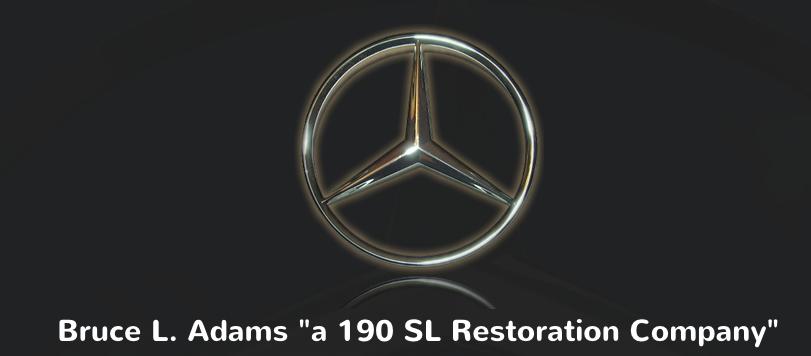 Bruce Adams 190 SL Restoration
